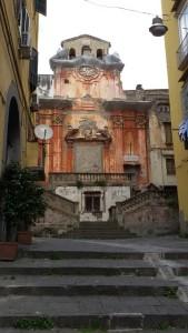 Iglesia abandonada, Nápoles