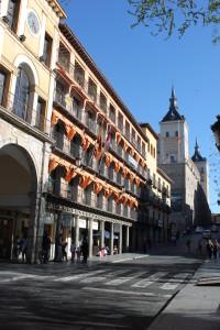 Plaza Zocodover y Alcázar