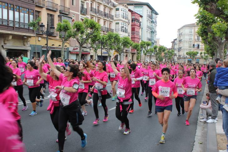 Fotos de la II Carrera de la Mujer en Logroño