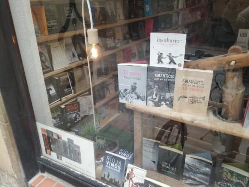 Librería de Pepitas de Calabaza en la Calle San Juan 38 de Logroño